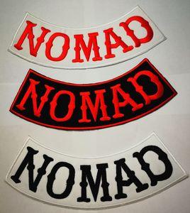Hells Nomad parches de chaqueta chaleco motociclista insignias motociclistas proscritos parches etiqueta adhesiva parches insignias para ciclista ciclista MC Clohting Chal