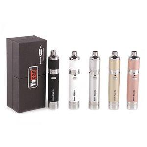 Original Yocan Evolve Plus XL Starter Kits Vaporizer Vape Pens 1400mAh E Cig Battery Quad Quatz Rod Coil Wax Pen E Cigarettes