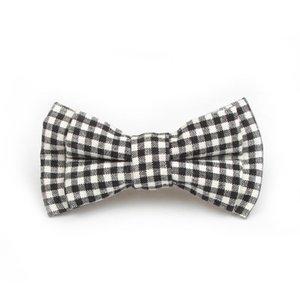 HOOYI 2019 패션 소년 핀 아이 새 스타일 선물 격자 무늬 도트 corbatas에 대한 작은 크기 넥타이 활