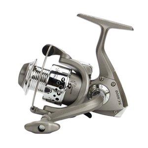 Carretéis da pesca Yumoshi Spinning Reel 5.5: 1 Alimentador Carp Equipamento Reel Fishing Trolling