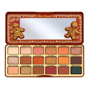 Neue Augen Make-up Too Marke Matt Metallic 18 Farben Lebkuchen Spice Halloween-Sammlung Faced Lidschatten-Palette DHL
