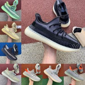 Alta qualità Asriel 2020 Adidas Yeezy 350 Boost sply 350 V2 Yeeyz Boots Israfil Oreo Cinder salvia del deserto Marsh Lino Zyon Terra di lino riflettenta corsa Uomo Donna Stylist