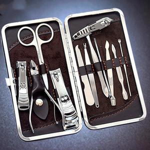 12pcs Manikür Seti Pedikür Makas Cımbız Bıçak Kulak Seçim Programı Tırnak Clipper Takımı, Paslanmaz Çelik Tırnak Bakımı Aracı Seti