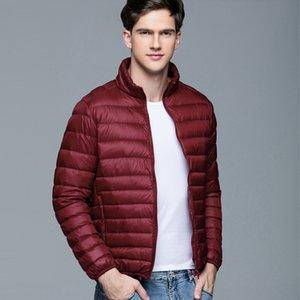 E-BAIHUI New High Quality Down Men 's Jackets 2018 Winter Fashion Coats Stand Collar Overcoat Outwear Parka Trench M-XXXL 002