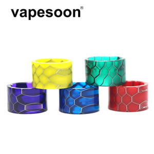 VapeSoon Newest Resin Drip Tip For TFV8 BABY V2 TANK Species V2 Tank Snake Style Fast Shipping