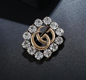 Klasik Stil Lady Altın Şerit Broş Moda Pin Parti için Moda Yaka Pin Erkekler Takı Moda Erkekler Zihinsel Pin Broş 4575