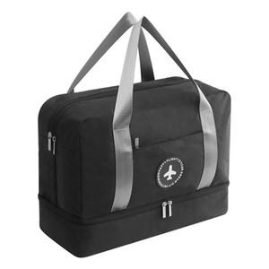 Dry Wet Depart Bag Sports Waterproof Men Women Fitness Handbag Waterproof Storage Bag Large Capacity Luggage Packing Bag