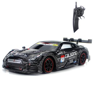 RC 자동차 GTR / 렉서스 2.4G 오프로드 4WD 드리프트 레이싱 카 챔피언십 차량 원격 제어 전자 키즈 취미 장난감 T200115