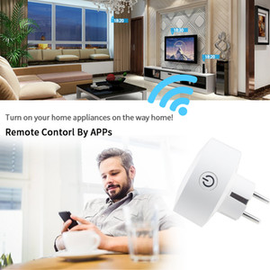 Wifi Smart Plug EU Socket Support Alexa  Echo Dot & Google Home,Outlet With Timer and Remote Control Via Mobile Phone