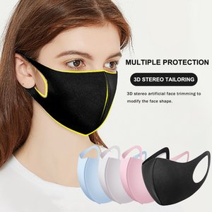 Unisex Bayan Erkek Karşıtı PM2.5 Anti-toz Kirliliği Tam Yüz Kapak İçin Hızlı Kargo 3D Stereo Yapay Yüz Maskesi Yıkanabilir FY9041 Maske