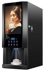 mobilia Kolice commerciale 3 sapori succo macchina da caffè, caffettiera, Erogatore acqua calda e fredda, erogatore spremiagrumi