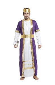 Shanghai Histoire Halloween cosplay Arabe Aladdin Inde Arabe Prince princesse roi Costume Roi Biblique Robe Carnaval Fantaisie Hommes