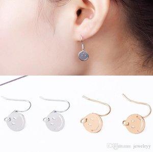 Lächeln Gesicht Emotion Ohrring Mode Golden Silver Fish Ohrbügel Antike Baumeln Kronleuchter Frauen Anhänger Ohrringe Partei Schmuck Geschenk für Mädchen
