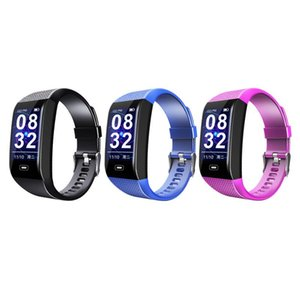Fashion Smart Watch 1.14 Color Screen Heart Rate Blood Pressure Monitoring Sports Pedometer Health Sports USB Rechargeable Newly