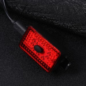 2 Sets Glowing Cycling Night Light Super Bright Rear Tail Light Bike Safety Warning Waterproof Bike Accessories for (
