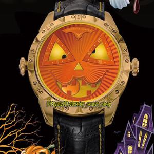 TW V3S Best Edition Konstantin Chakkin Moon Phase Joker Halloween Тыквенный циферблат NH35A Автоматические мужские Часы Розовый Золотой Чехол Дизайнер Часы