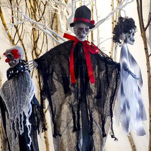 Halloween Skeleton Decration Skeleton Hanging Props Party Bar Hanging Layout Props Halloween Decrations Tools 3styles AN2679