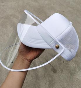 얼굴 커버 보호 마스크 캡의 GGA3350와 보호 얼굴 방패 남여 남성 여성 방진 일 캡 모자와 야구 모자