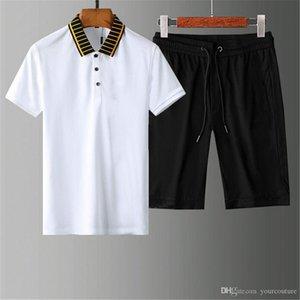 Men Fashion luxury designer letter sweatsuit Mens tracksuits shorts tops mens training jogging sweat track suits