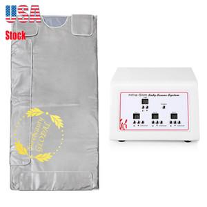 Summer Sale 3 Zona Fir Sauna Far Infrared corpo emagrecimento Sauna Blanket Loss Aquecimento Terapia Magro Bag Spa Peso Corporal Detox Máquina