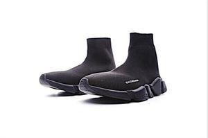2020 Designer Socks Speed Trainers Knit Paris Sock Shoe Sock Knit Triple S Boots Trainers Runner luxury sneakers size 36-45 Men Women