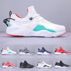 2019 Huarache CITY MOVE 8 الرجال الاحذية أبيض أسود أوريو Huarache 8 المدربين الرياضية حذاء رياضة حجم 36-45