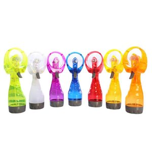 Water Spray Cool Fan Handheld Electric Mini Fan Portable Summer Cool Mist Maker Fans Party Favor OOA8019