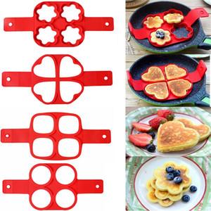 Pancake Maker antiadherente herramienta de cocina corazón redondo Pancake Maker huevo cocina Pan Flip huevos molde cocina accesorios para hornear