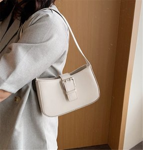 New Baguette Bags Simple Single Shoulder Armpit Women Bag Fashion Hand Carry Bag PH-CFY20051840