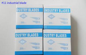 Airlfa para 200 unids / Caja Precisión Hobby Cuchillo # 11 Arte Talla de madera Herramientas Cortador Graver reparación de cuero fábrica al por mayor