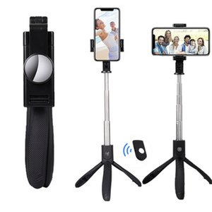 K06 Bastone allungabile portatile per fotocamera monopiede con treppiede per telefono cellulare con chiavetta Bluetooth per scatto remoto con scatola al minuto