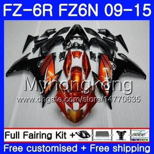 Cuerpo Naranja negro Nuevo Para YAMAHA FZ6N FZ6 R FZ 6N FZ6R 09 10 11 12 13 14 15 239HM.3 FZ-6R FZ 6R 2009 2010 2011 2012 2014 2014 2015 Carenados