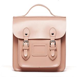 Marka Tasarımcısı Kadın Sırt Çantası Pu Deri Kemer Satchel Mini Küçük Genç kızın Çantası Için Okul 2018 Yeni Moda Retro Bagpack MX190708
