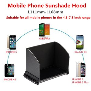 4.7-10 Inch Universal Mobile Phone Tablet Sunscreen Cover Hood Drone Remote Control Display Sunshade Visor