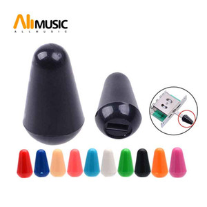100pcs Muilty Color 3way 5way Plastic Guitar Toggle Switch Tip Hats for Electric Guitar