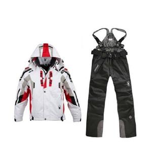 En plein air Hommes Pantalons de ski d'hiver Snowboard Pantalons Profession imperméable coupe-vent Pantalon neige respirant chaud Vêtements de ski
