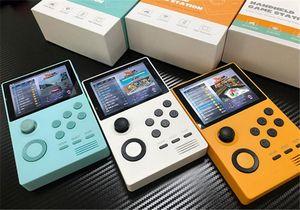 POWKIDDY A19 Pandoras Box Android supretro Handheld-Konsole IPS-Bildschirm herunterladen 3000 + Spiele 30 3D-Spiele WiFi speichern