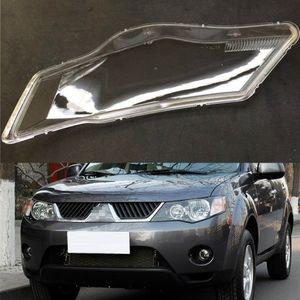 Für Mitsubishi Outlander EX 2007 2008 2009 Transparent Auto-Scheinwerfer-Scheinwerfer-freien Objektiv-Auto Shell Cover