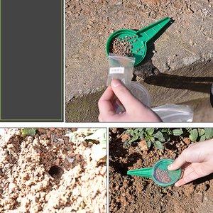 Ajustável Sementeira Ferramentas Dial sementes Supplies Dispenser Semeador Semeador disseminador Farm jardim de plantas
