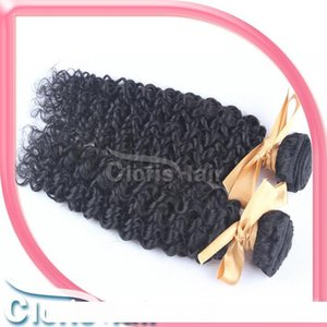 Ombre DIY Cloris Unprocessed Brazilian Afro Kinky Curly Human Hair Extensions Best Price Jerry Curl Remi Hair Weave 2 Bundles 100g pc