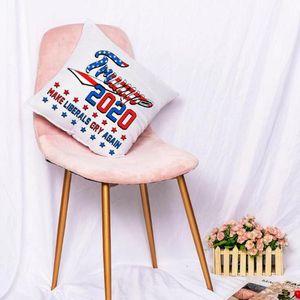 Trump Pillow 40*40cm Funny Donald Trump Cushion Pillows Home Sofa Chair Decoration Pillow Cushions LJJO7978
