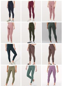 2020 дизайнер lululemon Lulu lu леггинсы lu yoga lemon брюки 32 016 25 78 женщины спортивная тренировка бесшовный розовый камуфляж yogaworld set