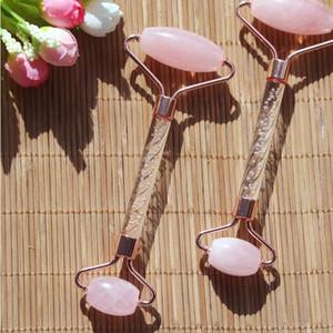 Cara natural del envío KCONYD la fábrica el alto calidad Rodillo-Rose quartzl-transparentes de plástico stents de aleación de zinc-mano