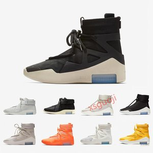 hotsale Fear of God 1 Boots designer shoes Triple Black Orange High Ankle Sport Shoes Xshfbcl Sneaker mens winter boots Skateboard Shoes