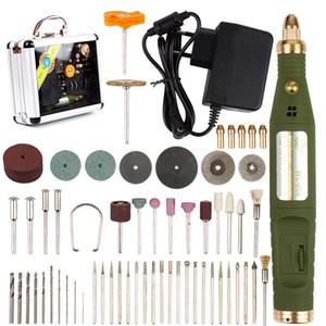 18000RPM 18V Mini électrique rotatif Drill meuleuse de Dril Bits Accessoires outil Ponçage Set Kit pour Polish Dremel outil