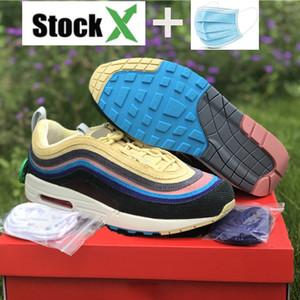 2020 venda quente 97OG Sean Wotherspoon vf SW homens híbridos que funcionam sapatos do estilista da forma as sapatilhas das mulheres com máscara US 5,5-11