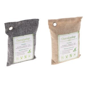 2x500g- charbon Deodorizer Neutralisant d'odeur Accueil Freshener Sacs Car, Bio Bambou Activated Sacs Air Purificateurs