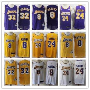 2019 Los AngelesLakersHombres 24 32 8 KobeBryantEarvinjersey Johnson baloncesto Shaquille # 34 O Neal