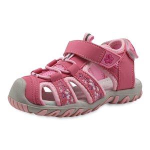 Apakowa 새로운 스포츠 비치 컷 아웃 여름 어린이 유아 휴일 토 여자 샌들 아동 신발 EU 21-32 Y200509