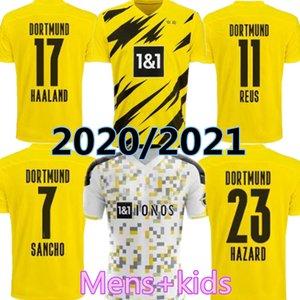 20 21 HAALAND Borussia SANCHO dortmund soccer jersey 2020 2021 football shirt 110th REUS HUMMELS BRANDT PACO DELANEY Men Kids home kits
